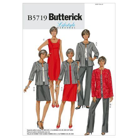 Butterick Schnittmuster - 5719 - Damen - Kombination – Bild 1