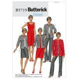 Butterick Schnittmuster - 5719 - Damen - Kombination 001