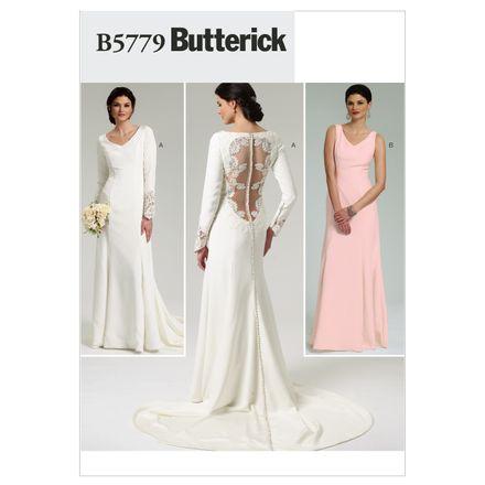 Butterick Schnittmuster - 5779 - Damen - Hochzeitskleid