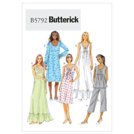 Butterick Schnittmuster - 5792 - Damen - Nachtwäsche – Bild 1