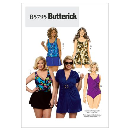 Butterick Schnittmuster - 5795 - Damen - Bademode – Bild 1