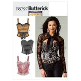 Butterick Schnittmuster - 5797 - Damen - Korsage, Bolero 001