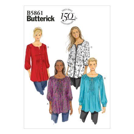 Butterick Schnittmuster - 5861 - Damen - Tunika
