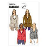 Butterick Schnittmuster - 5926 - Damen - Blazer 001
