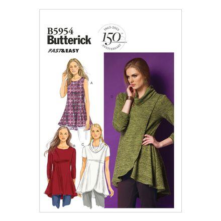 Butterick Schnittmuster - 5954 - Damen - Tunika