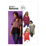 Butterick Schnittmuster - 5955 - Damen - Top 001