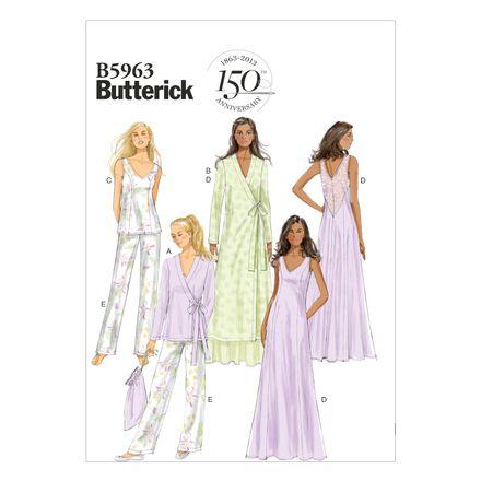 Butterick Schnittmuster - 5963 - Damen - Homewear – Bild 1