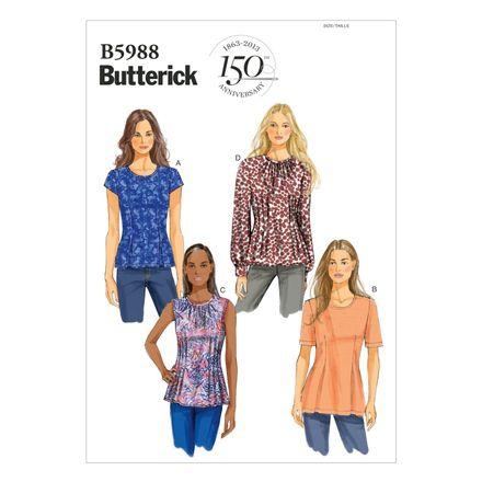 Butterick Schnittmuster - 5988 - Damen - Shirt – Bild 1