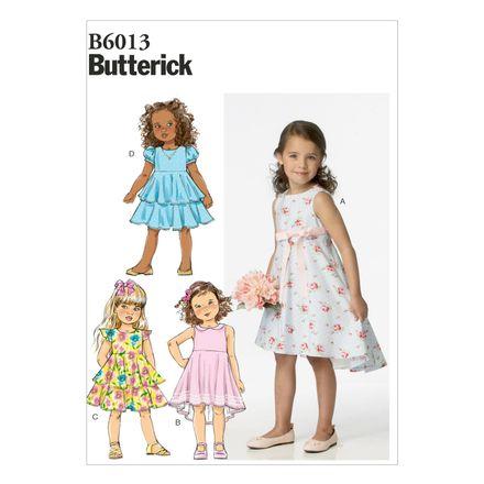 Butterick Schnittmuster - 6013 - Kinder - Kleid