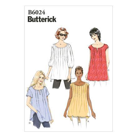 Butterick Schnittmuster - 6024 - Damen - Shirt – Bild 1