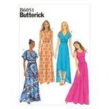 Butterick Schnittmuster - 6051 - Damen - Kleid 001