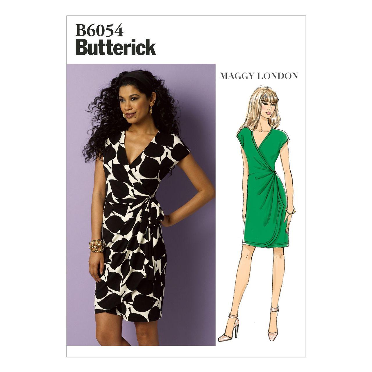 Butterick Schnittmuster - 6054 - Damen - Kleid SCHNITTE ...