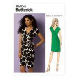 Butterick Schnittmuster - 6054 - Damen - Kleid 001