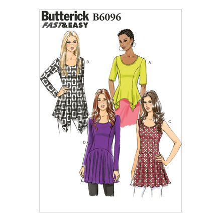 Butterick Schnittmuster - 6096 - Damen - Tunika