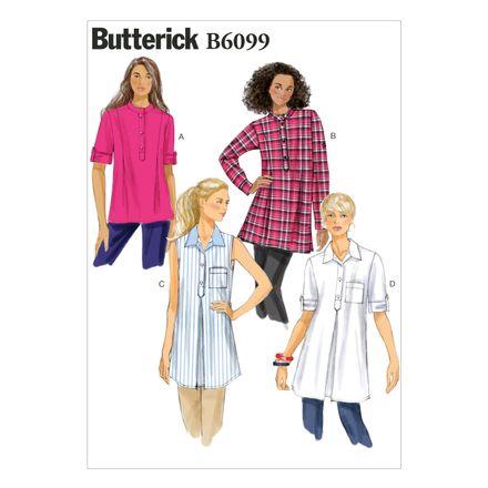 Butterick Schnittmuster - 6099 - Damen - Bluse
