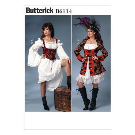 Butterick Schnittmuster - 6114 - Damen - Kostüm