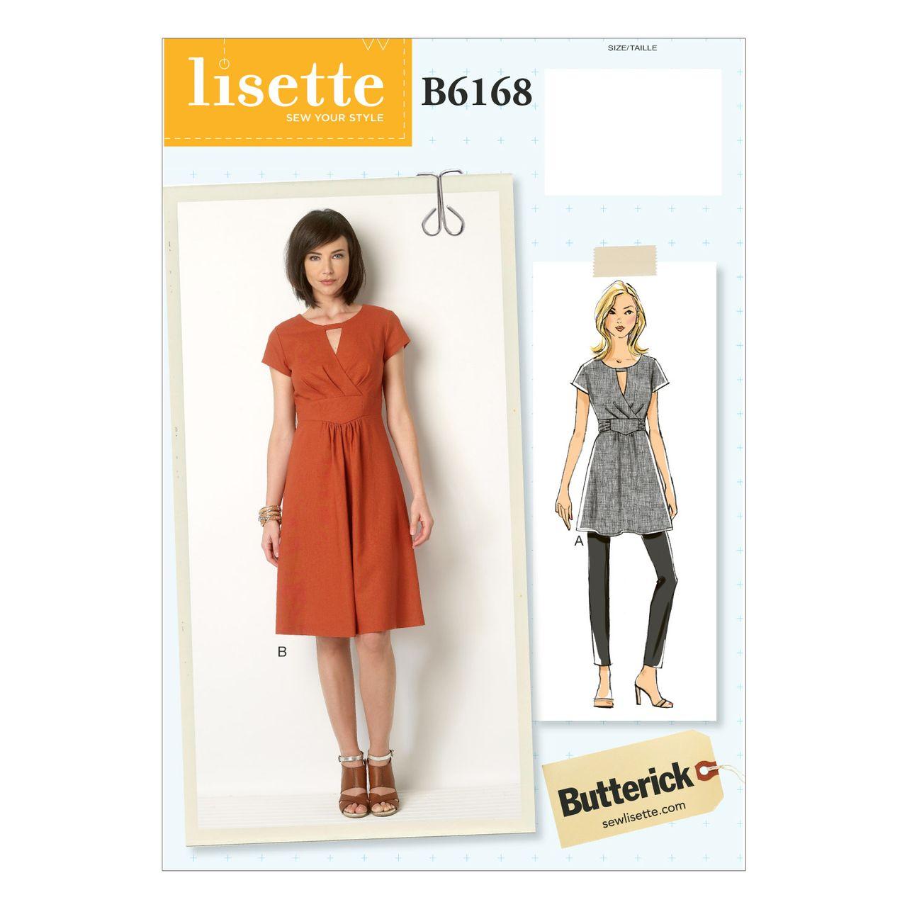 Butterick Schnittmuster - 6168 - Damen - Kleid SCHNITTE ...