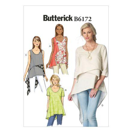 Butterick Schnittmuster - 6172 - Damen - Shirt