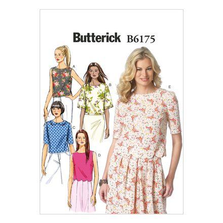 Butterick Schnittmuster - 6175 - Damen - Shirt