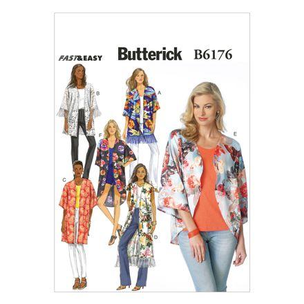 Butterick Schnittmuster - 6176 - Damen - Kimono