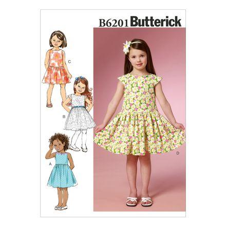 Butterick Schnittmuster - 6201 - Kinder - Kleid