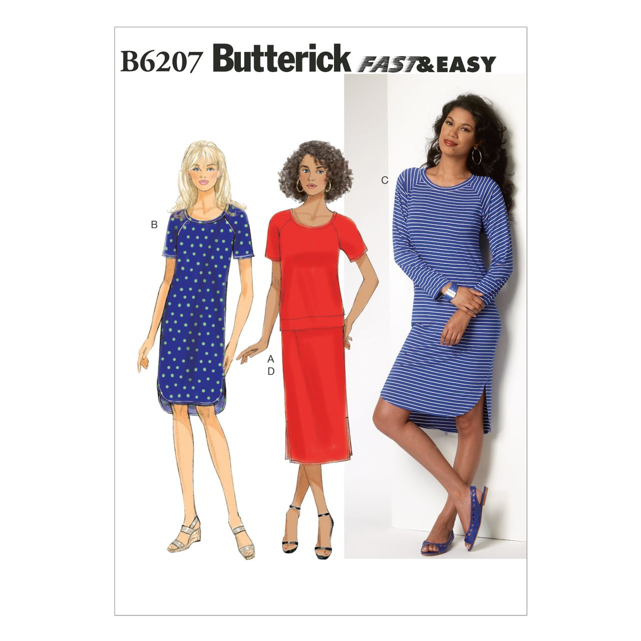 Butterick Schnittmuster - 6207 - Damen - Kleid SCHNITTE ...