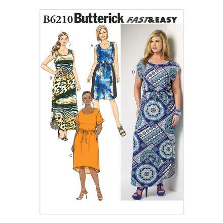 Butterick Schnittmuster - 6210 - Damen - Kleid