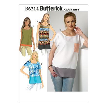 Butterick Schnittmuster - 6214 - Damen - Shirt