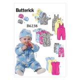 Butterick Schnittmuster - 6238 - Kinder - Babybekleidung 001