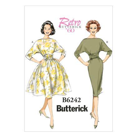 Butterick Schnittmuster - 6242 - Damen - Retrokleid