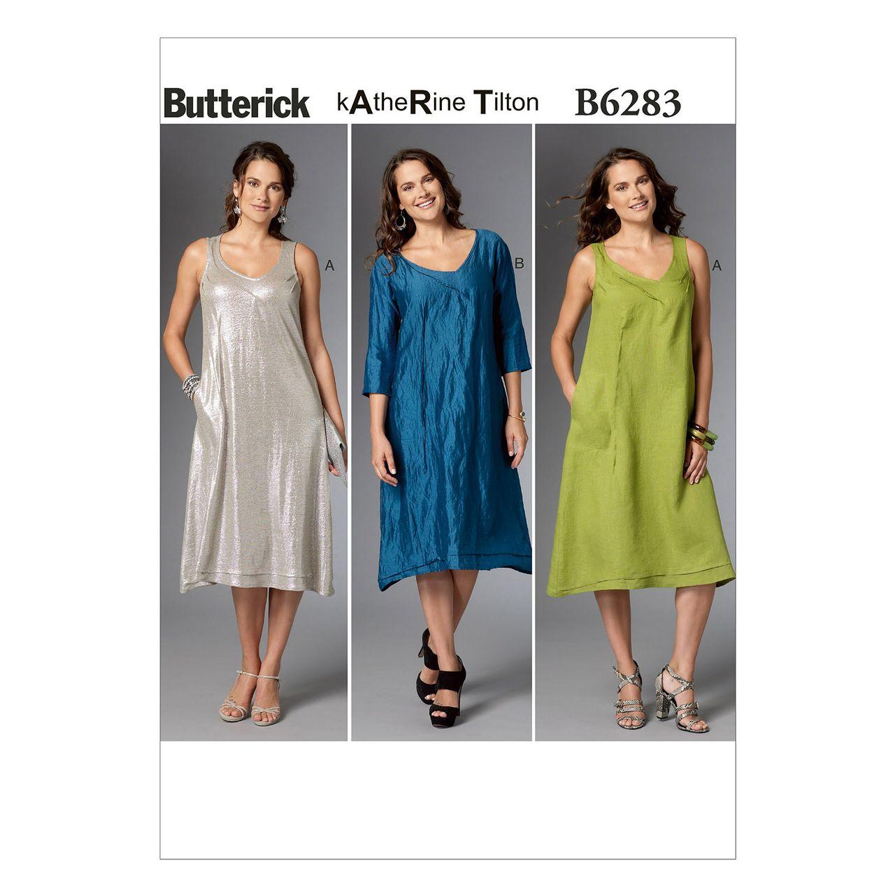Butterick Schnittmuster - 6283 - Damen - Kleid SCHNITTE ...