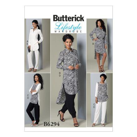 Butterick Schnittmuster - 6294 - Damen - Tunika, Hose