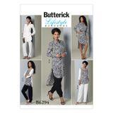 Butterick Schnittmuster - 6294 - Damen - Tunika, Hose 001