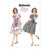 Butterick Schnittmuster - 6318 - Damen - Retrokleid 001