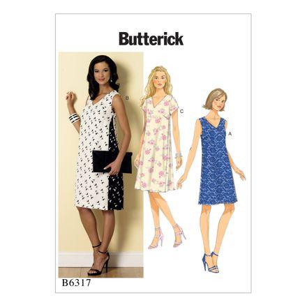 Butterick Schnittmuster - 6317 - Damen - Kleid