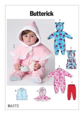 Butterick Schnittmuster - 6372 - Kinder - Babybekleidung