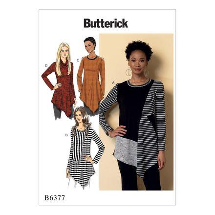 Butterick Schnittmuster - 6377 - Damen - Zipfelshirt