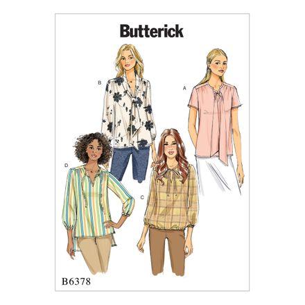 Butterick Schnittmuster - 6378 - Damen - Bluse