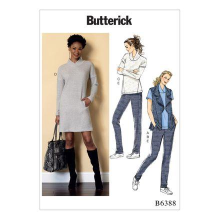 Butterick Schnittmuster - 6388 - Damen - Kombination