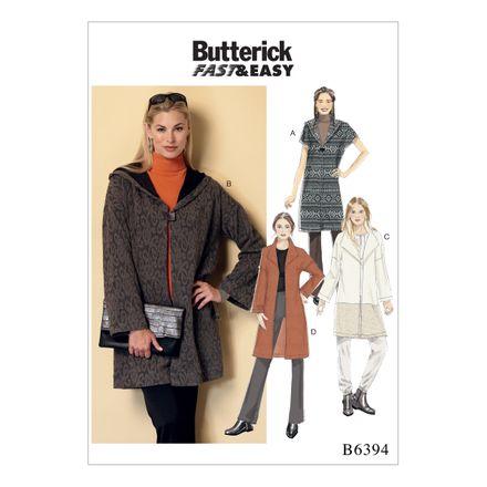 Butterick Schnittmuster - 6394 - Damen - Jacke, Mantel