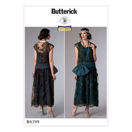 Butterick Schnittmuster - 6399 - Damen - Kleid