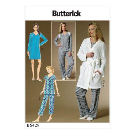 Butterick Schnittmuster - 6428 - Damen - Homewear