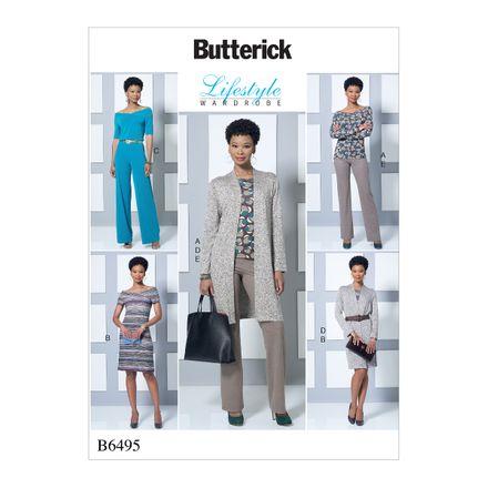 Butterick Schnittmuster - 6495 - Damen - Kombination