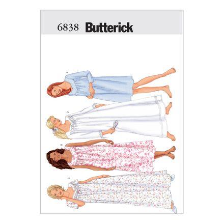 Butterick Schnittmuster - 6838 - Damen - Homewear