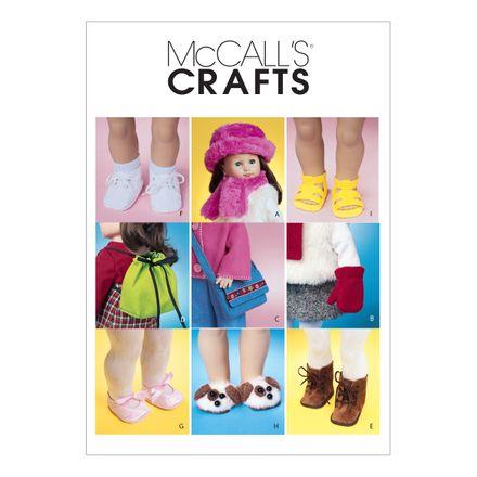 McCall´s Schnittmuster - 3469 - Kinder - Puppenbekleidung
