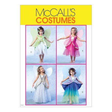 McCall´s Schnittmuster - 4887 - Kinder - Kostüm, Elfe oder Schmetterling