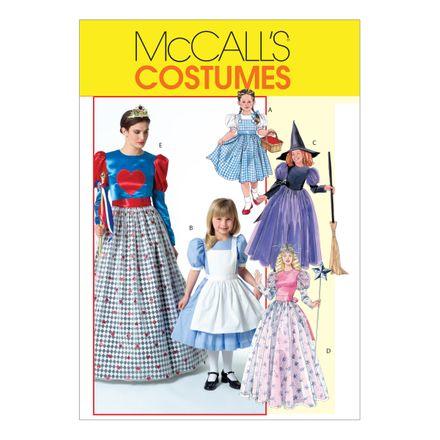 McCall´s Schnittmuster - 4948 - Damen und Kinder - Kostüm, Prinzessinnenkleid