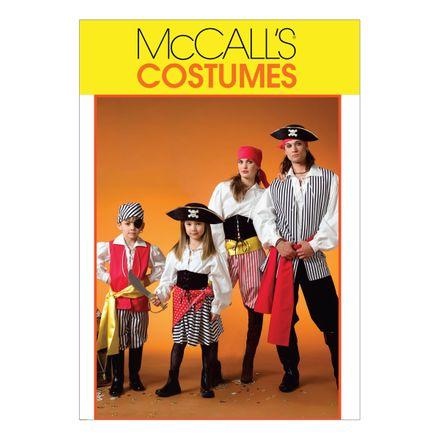 McCall´s Schnittmuster - 4952 - Damen, Herren und Kinder - Kostüm