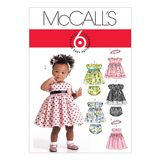 McCall´s Schnittmuster - 5791 - Kinder - Kleid 001