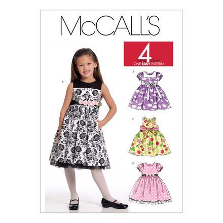 McCall´s Schnittmuster - 5793 - Kinder - Kleid